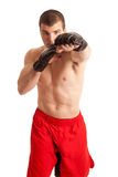 MMA Fighter Royalty Free Stock Photography