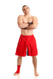 MMA Fighter Royalty Free Stock Image