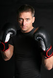 MMA Fighter Stock Photo