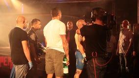 MMA Fighting Royalty Free Stock Photos