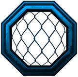 MMA-het Teken van de Achthoekkooi Royalty-vrije Stock Afbeeldingen