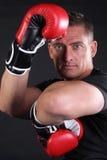 MMA Mann Stockbilder