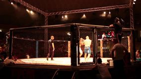 MMA Match Royalty Free Stock Images