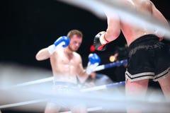 MMA-strijd stock foto