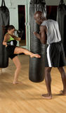 MMA  Training Camp Royalty Free Stock Image