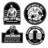Mma training camp badge design. Vector of mma training camp badge design vector illustration
