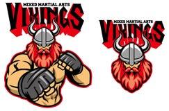 MMA-vechter Viking vector illustratie