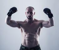 MMA wojownik Zdjęcia Stock