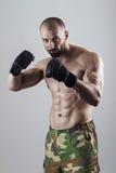 MMA wojownik Obrazy Royalty Free