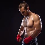 MMA wojownik Obraz Stock