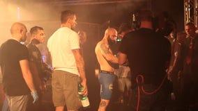 MMA wojownik Przed walką