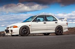 MMC Lancer Evo II Royalty Free Stock Images