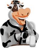 mme caractère de vache Photographie stock