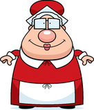 Mme Claus Smiling illustration stock