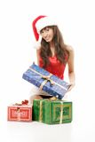 Mme Clause photo stock