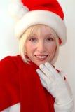 Mme Santa photographie stock libre de droits