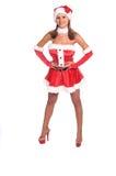 Mme sexy Claus photos libres de droits