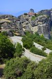 MMeteora mountain Stock Photography