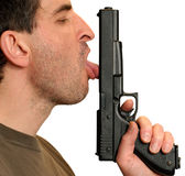 Mmm...Gun. Royalty Free Stock Photo