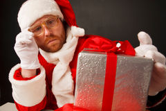 MMM...that is in this present? Royalty Free Stock Photos