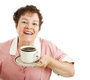 Mmmm guter Kaffee lizenzfreie stockbilder