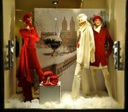 Mémoire de mode de femme de l'hiver en Italie   Photographie stock libre de droits