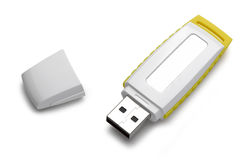 Mémoire Flash d'Usb Image stock
