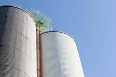 mémoire industrielle de silo Photographie stock libre de droits
