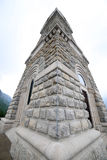 Mémorial aux soldats tombés dans la Première Guerre Mondiale avec l'ossuaire Images libres de droits