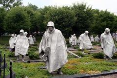 Mémorial coréen Image libre de droits