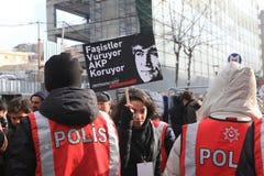 Mémorial de Hrant Dink à Istanbul Photographie stock libre de droits