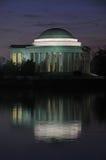 Mémorial de Jefferson Photos libres de droits