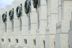 Mémorial de la deuxième guerre mondiale Image stock
