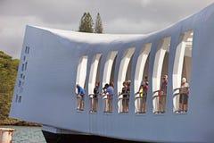 Mémorial de Pearl Harbor Photos libres de droits