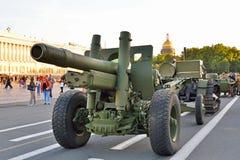 122-mmvapenmodell 1931 37 år 52-P-471, A-19 och militär t Arkivbild
