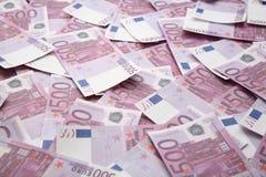 mnóstwo euro Obraz Royalty Free