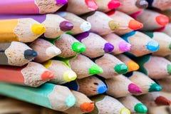 Mnóstwo koloru ołówek dla tworzy każdy rzecz Obrazy Stock