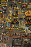 Mnóstwo ouvenir magnesy z St Petersburg dla sztuka dla sztuki Fotografia Stock