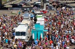 MN. Ciężarowy jedzenie Jarmark Zdjęcie Royalty Free