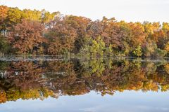 Mn della valle di Jensen Lake Apple immagini stock libere da diritti