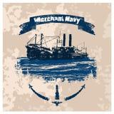 MN_label_vintage 皇族释放例证