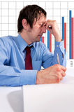 Stressed man Stock Photos