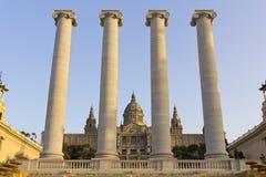 MNAC, Barcelona Royalty Free Stock Photography