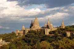 MNAC Barcelona Fotos de Stock Royalty Free