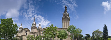 MNAC, Barcelona, Spain Royalty Free Stock Photos