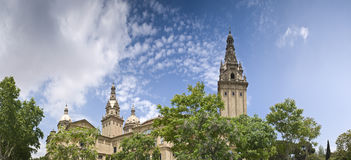 MNAC, Barcelona, Spain Stock Photos