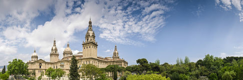 MNAC, Barcelona, Spain Stock Photography