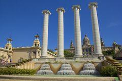 MNAC in Barcelona, Spain Royalty Free Stock Photo