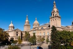 MNAC Krajowy muzeum sztuki Catalonia Obraz Stock