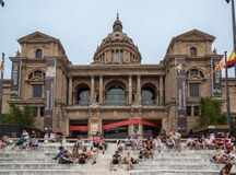 MNAC Museum Barcelona Stock Images
